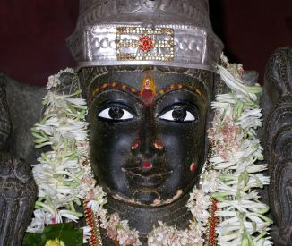 Sri Sri Sri Sahasrakshi Rajarajesvari Lalita Mahatripurasundari Devi Mata of Devipuram, India